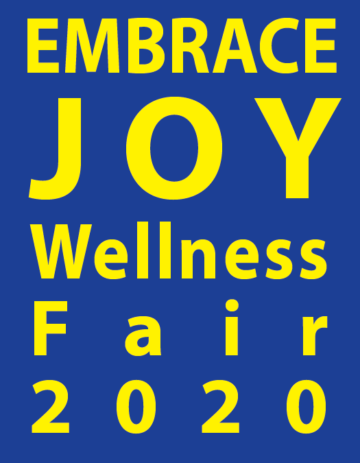 Embrace Joy Wellness Fair 2020